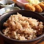 産後ダイエット中の食事は玄米を摂るように心がける