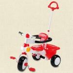 西松屋の三輪車は価格も手頃で空転機能もついている
