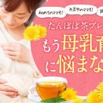 母乳育児をもっと楽しく![ノンカフェインたんぽぽ茶ブレンド]の特徴と口コミ