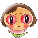 育児体験談 プール熱とも言われる『アデノウイルス』は目の充血が特徴