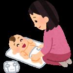 【ママ体験談】男の子のおむつの替え方